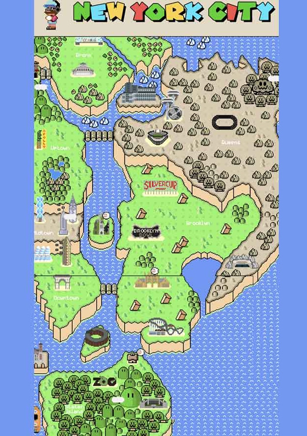 New York City Mario Game