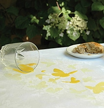 For The Artist In Your Life: The Happy Accidents Tablecloth