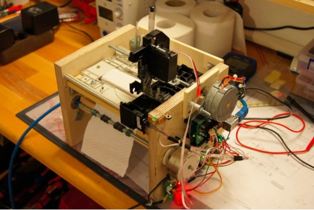 Toilet Paper Twitter Machine Build