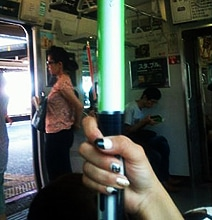 Lightsaber Handrails: Tokyo Is The Place For Star Wars Fans