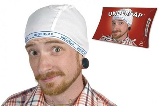 Hat Made From Underwear