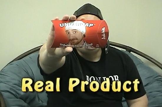 Hat Made From Underwear
