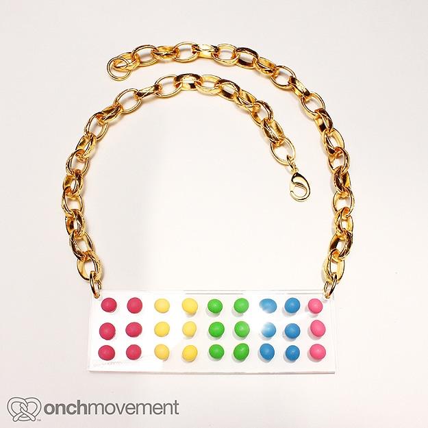 Onch Movement Food Bracelet Necklace