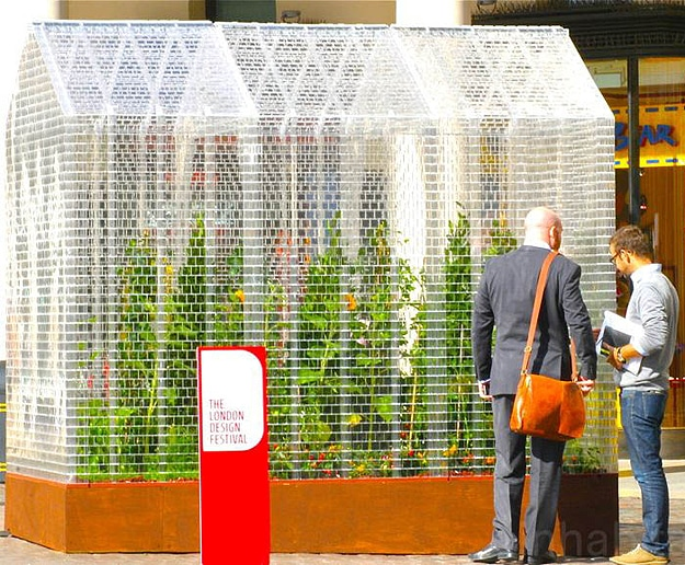 World's First Lego Greenhouse Built With 100,000 Lego Bricks