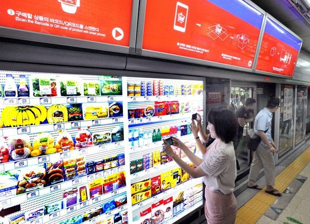 The World's First Virtual Supermarket: Life Just Got Easier