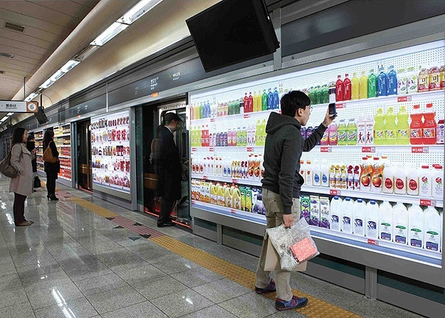 Buy Groceries With Smartphone