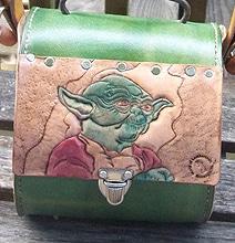 Geek Girl Yoda Purse