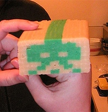 Geek Heaven: DIY 8-Bit Pixelated Sugar Cookies