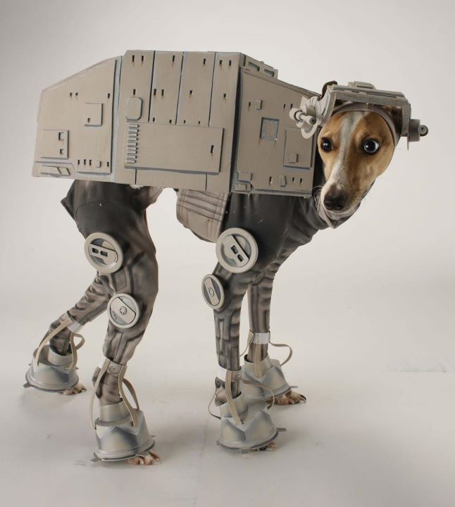 Epic AT-AT Star Wars Dog Costume