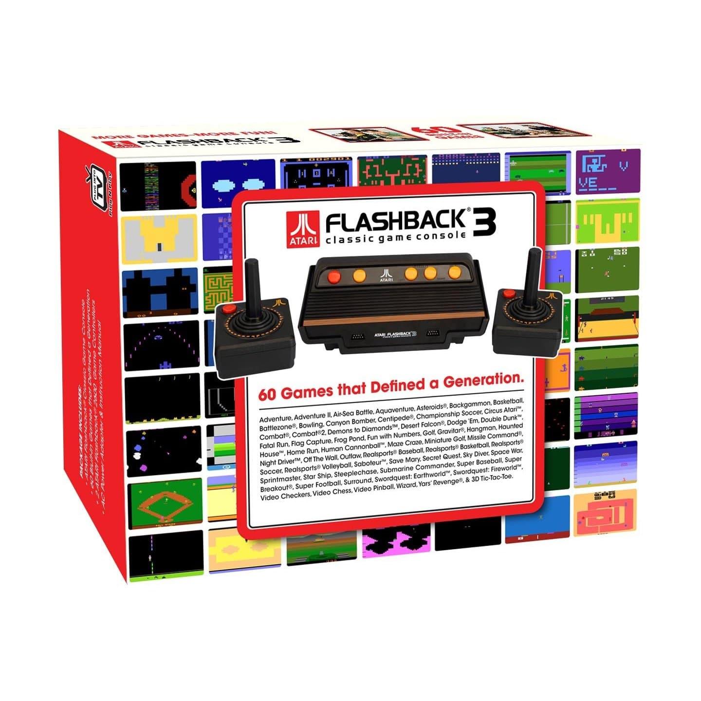 Atari Flashback 3: Get The Retro Back Into Your Life