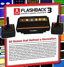 Atari Flashback 3: Get The Retro Back Into Your Life