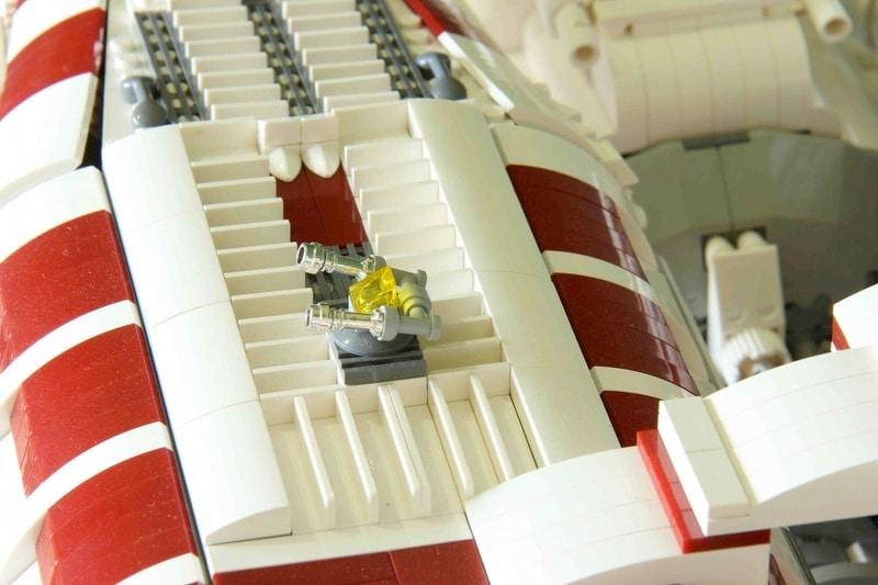 Battlestar Galactica Lego Space Ship