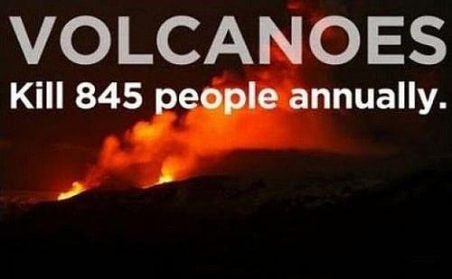 Volcano Kills People Every Year
