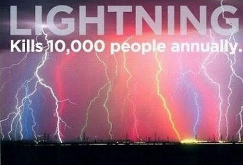 Lightning Kills People Every Year