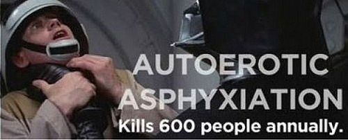 Autoerotic Choking Causes Death