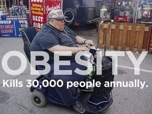 Obesity Kills People Every Year
