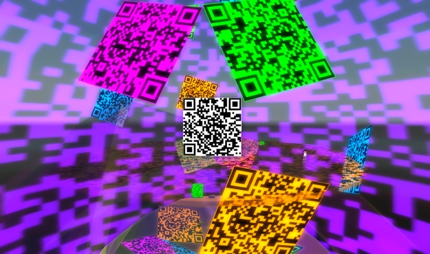 Colorful QR Code Barcodes