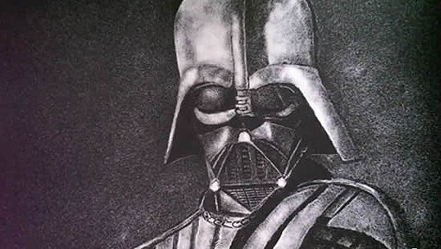 Unusual Dart Vader Portrait