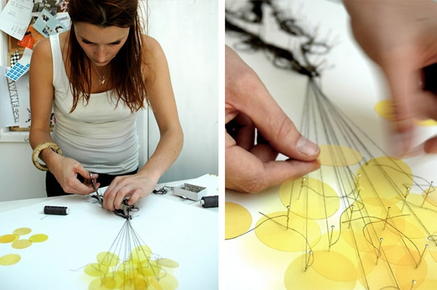 Drawing With Thread & Pins: A Unique Artistry
