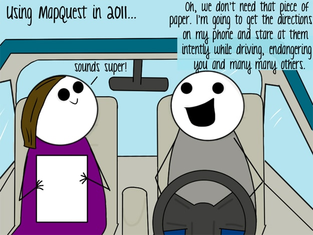 Mapquest Directions Funny Comic