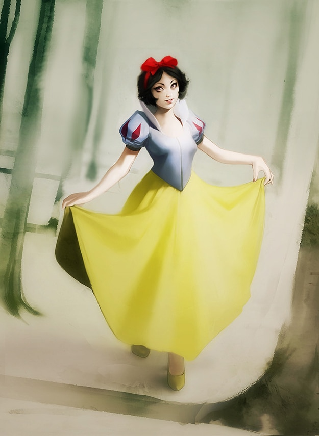 Snow White As Human Being