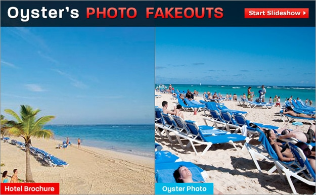 Hotel Brochure Pictures vs. The Actual Hotels