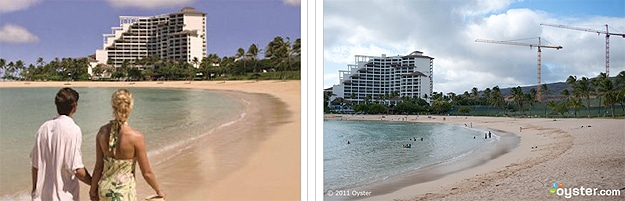 Brochure Pics vs Actual Hotel