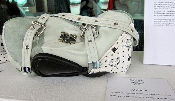 Handbags Used As Face Masks