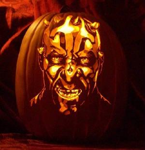 Faux Pumpkin Carving Pattern Design