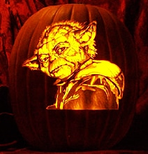 6 Star Wars Pumpkin Carvings With Detail Insanity!