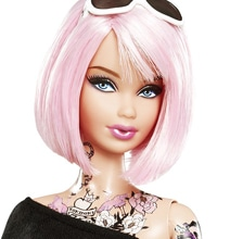 Barbie Doll With Tattoos