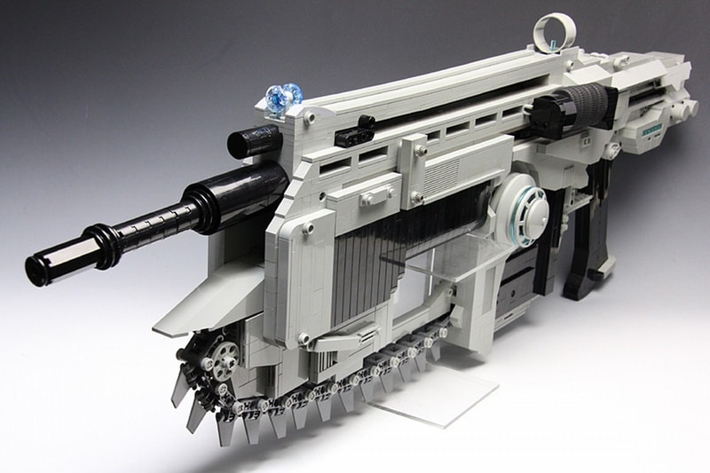 Stunning Gears Of War Lego Rubber Band Rifle