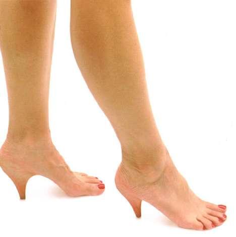 Growing Real Skin Stiletto Heels