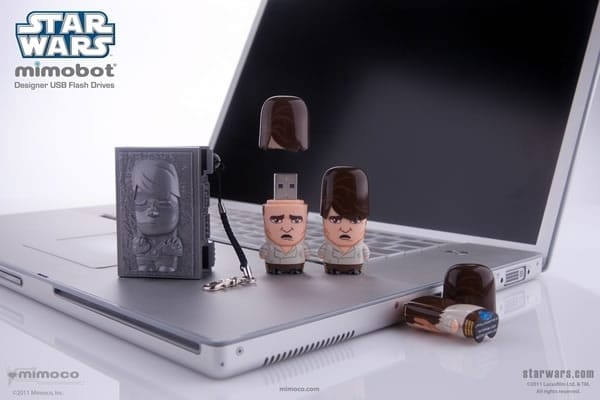 Star Wars Han Solo Mimobot USB Flash Drive