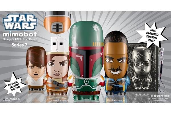 Han Solo Mimobot Flash Drive