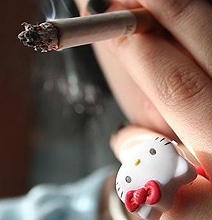 Your Daily WTF: Hello Kitty Cigarettes & Lighters