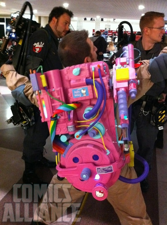 Hello Kitty In Ghostbusters: The Cosplay Proton Pack