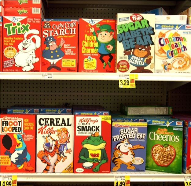 Ron English Redesigned Cereal
