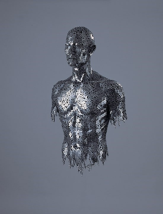 Chain Art: Mind Blowing Welded Human Portraits