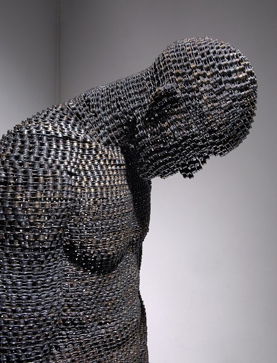 Human Body Welded Chain Sculptures