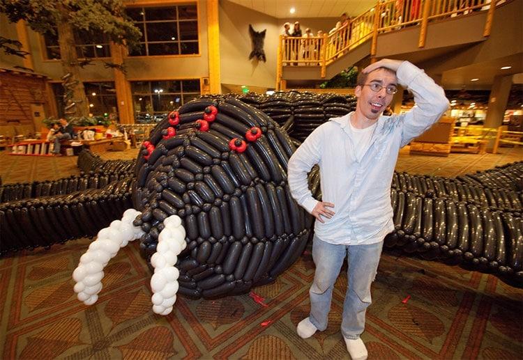 Largest Balloon Sculpture In World