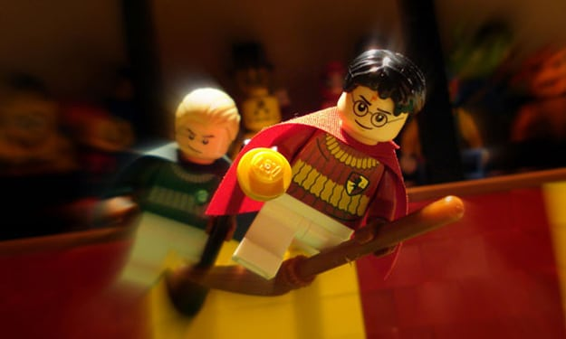 Movies Built With Lego