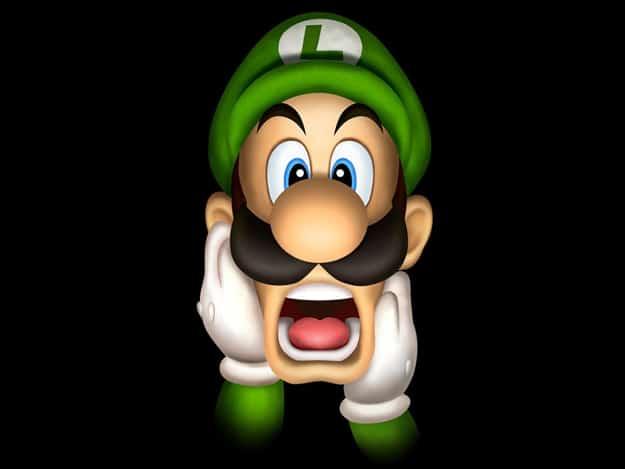 Tetris Art: A Luigi Pattern Created While Playing Tetris