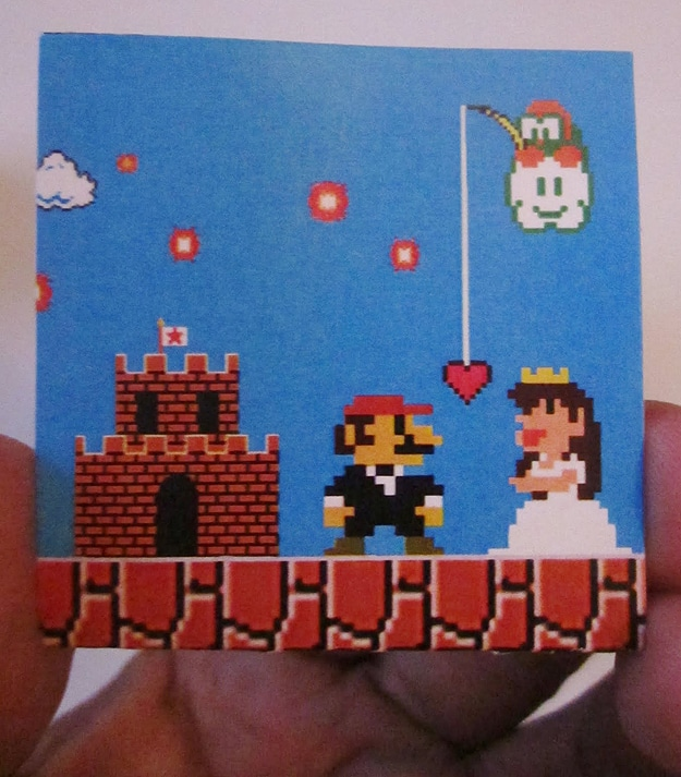 Super Mario Bros Wedding