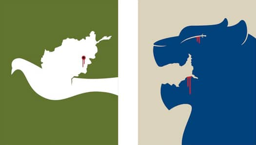 Negative Space Art Examples