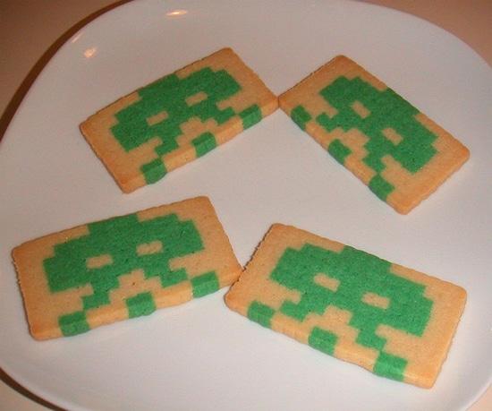8-Bit Pixel Sugar Cookies