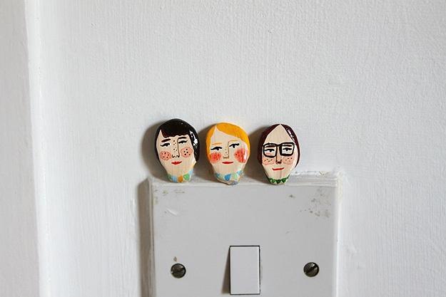 Handmade Wooden Pocket Friends