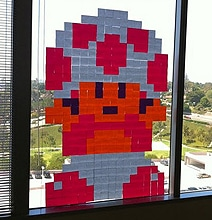 12 Post-It Note Window Designs From Around The World