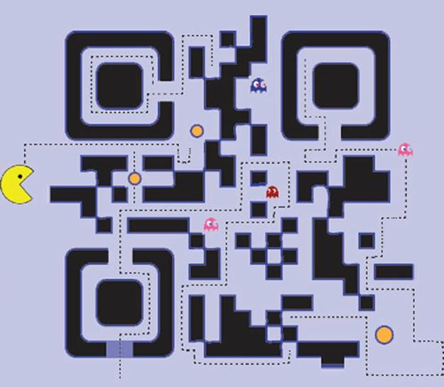 Creative QR Codes Pac-Man