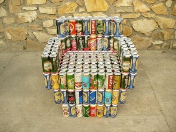 Recycled Beer Can Furniture Builds